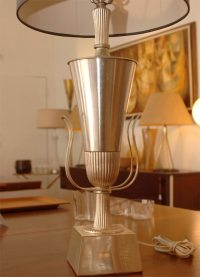 Tommy Parzinger Neoclassical Table Lamp at 1stdibs
