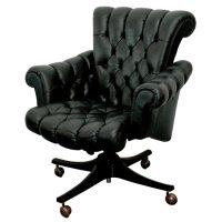 Rare Dunbar Executive Office Chair at 1stdibs