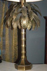 Brass Palm Tree Lamp at 1stdibs
