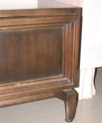 UNUSUAL CABINET WITH DECORATIVE PULL BY MONTEVERDI YOUNG