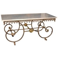 French Pastry / Bakers Table at 1stdibs