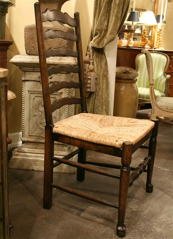 Replica Of An 18th Century Ladder Back Chair Arm Or