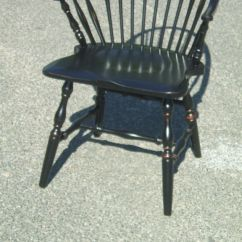 High Back Contemporary Chairs Swivel Chair And Footstool Black Windsor For Sale At 1stdibs