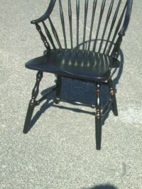 Black Windsor Chair For Sale at 1stdibs