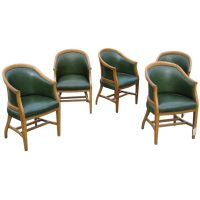 Antique barrel back chairs at 1stdibs