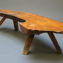 Sam Maloof Chair Plans Circle Bungee Cord Rustic Log Bench At 1stdibs