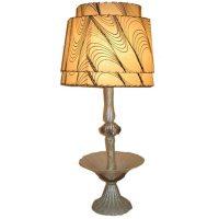 Unusual and gracious 40s Venetian table lamp at 1stdibs