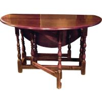 18th Century English Walnut Gateleg Table. at 1stdibs