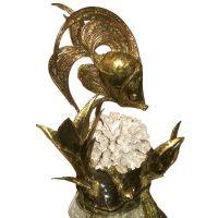 French Fantasy Fish Lamp--Sculpture at 1stdibs