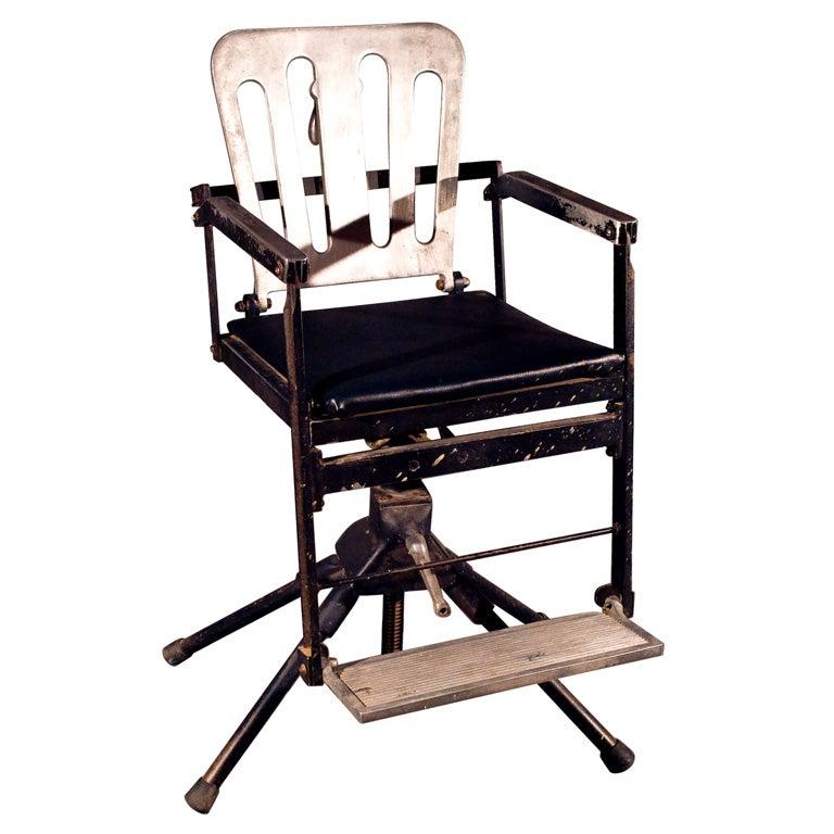 vintage dentist chair rv rack swivel dental commercial design project for sale at