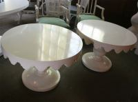 Pair of Original Dorothy Draper Tables For Sale at 1stdibs