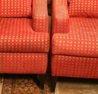 Oversized Wing Chairs at 1stdibs