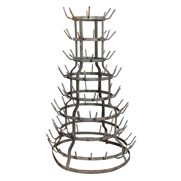 Bottle Drying Rack at 1stdibs