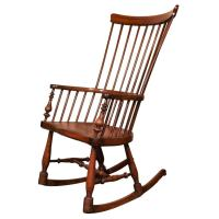Antique English Windsor rocker/nursing chair. at 1stdibs