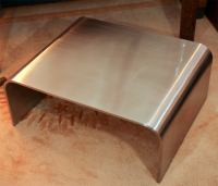 STAINLESS STEEL WATERFALL TABLE at 1stdibs
