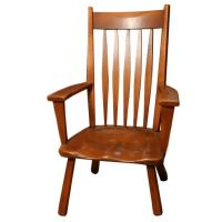Tall Maple Armchair at 1stdibs