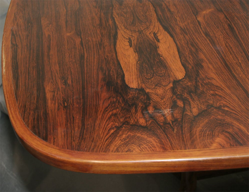skovby rosewood dining chairs small scale upholstered oval table with floor rail by at 1stdibs