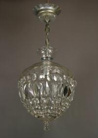 Crystal Basket Pendant at 1stdibs