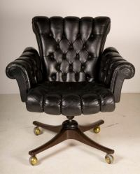 """""""In Clover"""" Executive Swivel Chair by Edward Wormley at ..."""