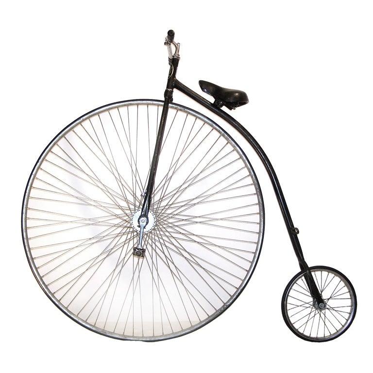 Hiwheel / Penny Farthing Bicycle at 1stdibs