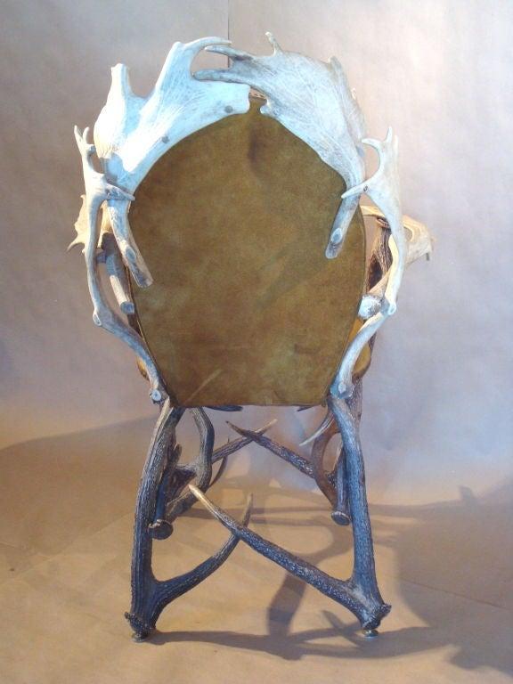 Elk and Moose Antler Chair at 1stdibs