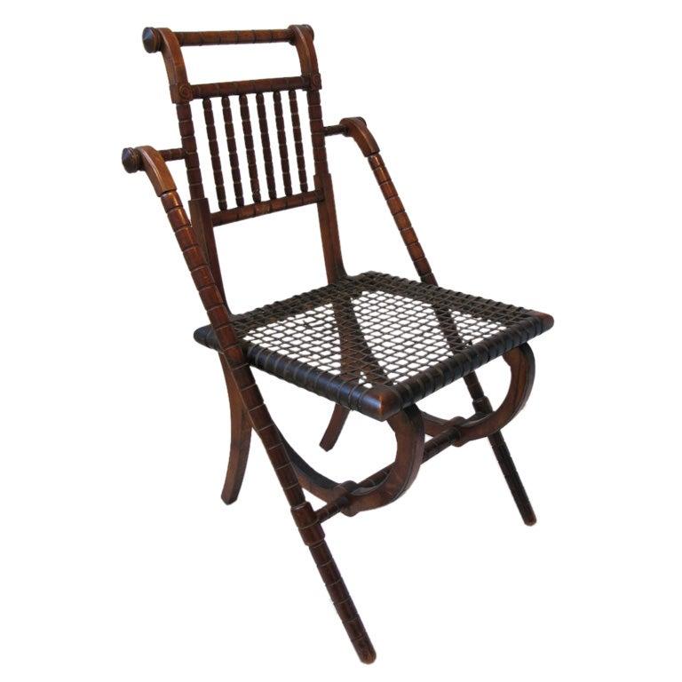 George Hunzinger Renaissance Revival Chair At 1stdibs