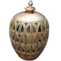 Carved Gilt Wood Swag Lamp at 1stdibs