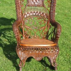 Rocking Chair Antique Styles V Rocker Fancy Victorian Wicker At 1stdibs
