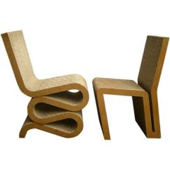 Frank Gehry Cardboard Chairs Joovy Nook High Chair Pair Of Easy Edge At 1stdibs