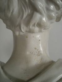 ABRAHAM LINCOLN PLASTER BUST at 1stdibs