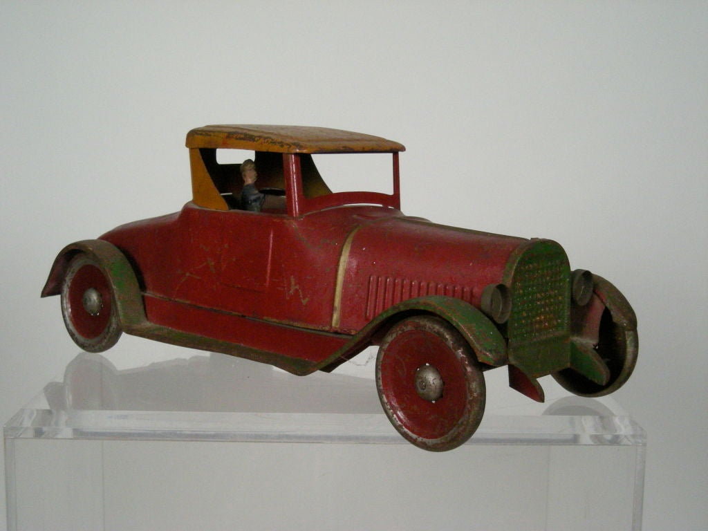 LARGE DAYTON ANTIQUE TOY ROADSTER COUPE At 1stdibs