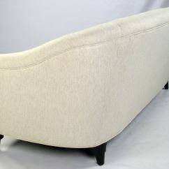 How To Clean Belgian Linen Sofa Pier One Wrought Iron Table Pair Donghia Sofas In Ivory Stroheim And Romann Hemp