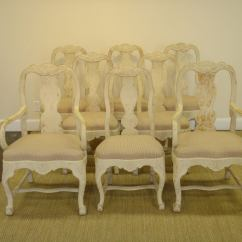 Set Of 8 Dining Chairs Baby Chair Swing Uk Swedish At 1stdibs