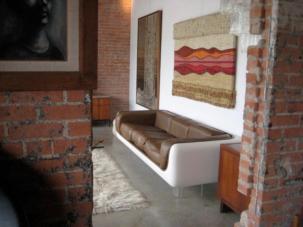 steelcase sofa platner italsofa microfiber loveseat designed by warren for at 1stdibs