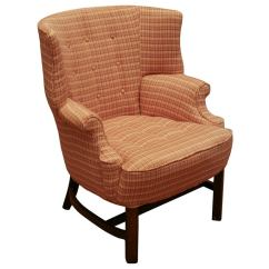 Marge Carson Chairs Office Chair Heater Small Scale Barrel Back Wing At 1stdibs