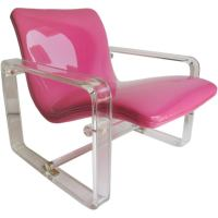 Lucite Lounge Chair at 1stdibs