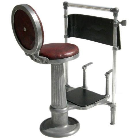 Billiard Hall Shoe Shine Chair At 1stdibs