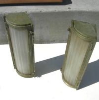 Queen Mary Ocean Liner Wall Sconces at 1stdibs