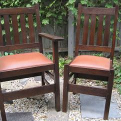 Mission Chairs For Sale Ez Chair Barber Shop Set Of Six Dining Room By J M Young