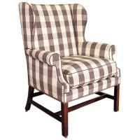 George III wing armchair at 1stdibs