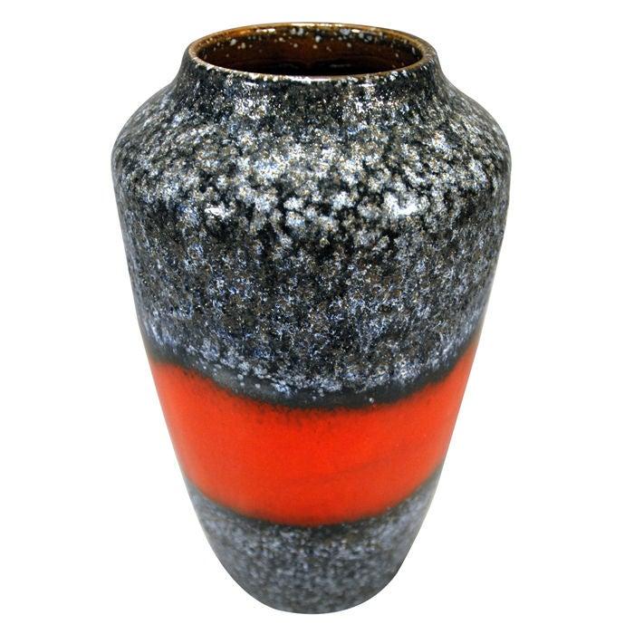 Large Mid Century Modern Vase By Scheurich Keramik For