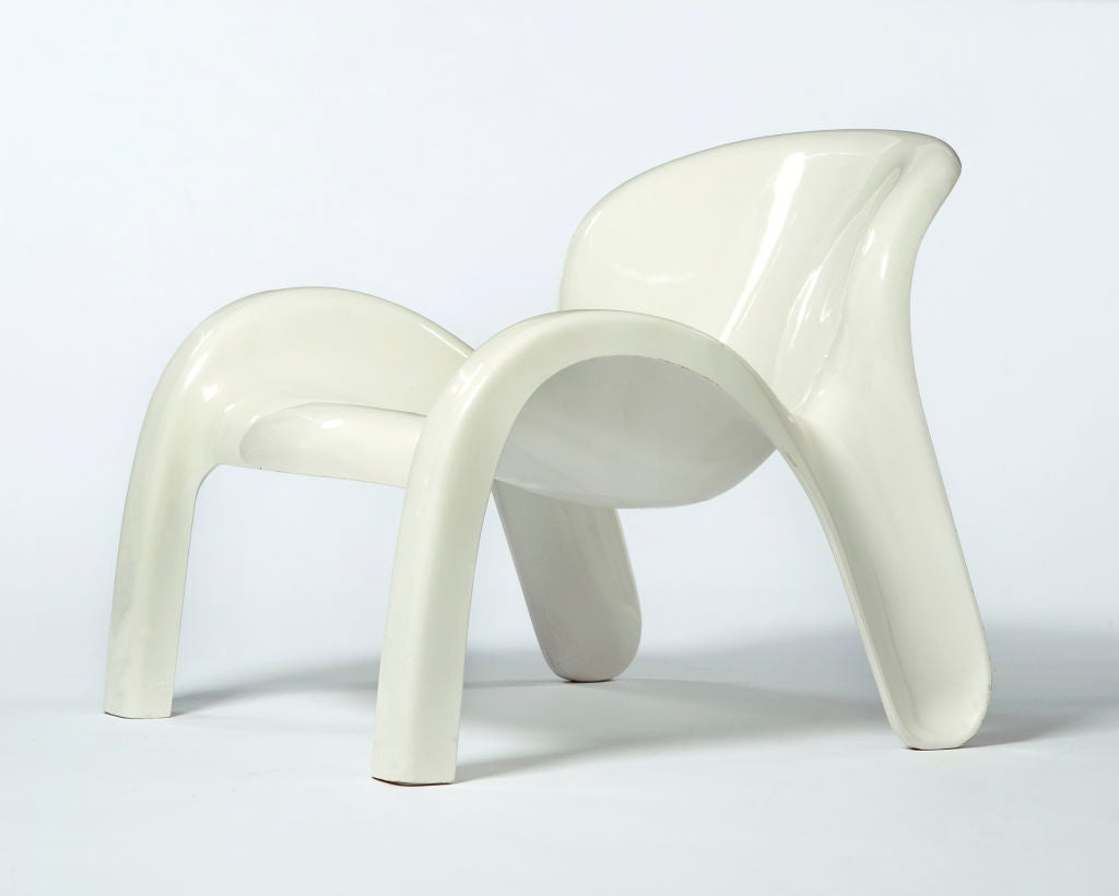 Plastic Lounge Chair Lounge Chair By Peter Ghyczy