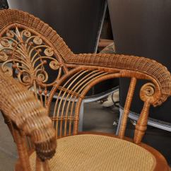 Heywood Wakefield Dogbone Chairs Cheap Accent For Sale Wicker Arm Chair At 1stdibs