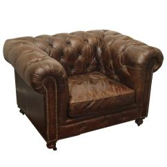French Club Chairs For Sale Folding Chair Covers Belgian Leather Sofa Chesterfield Style At 1stdibs