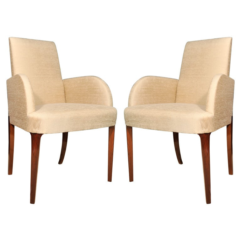 Set Of Dining Chairs By Hammond Kroll American 1930s At