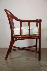 McGuire Bamboo Captain's Chairs at 1stdibs