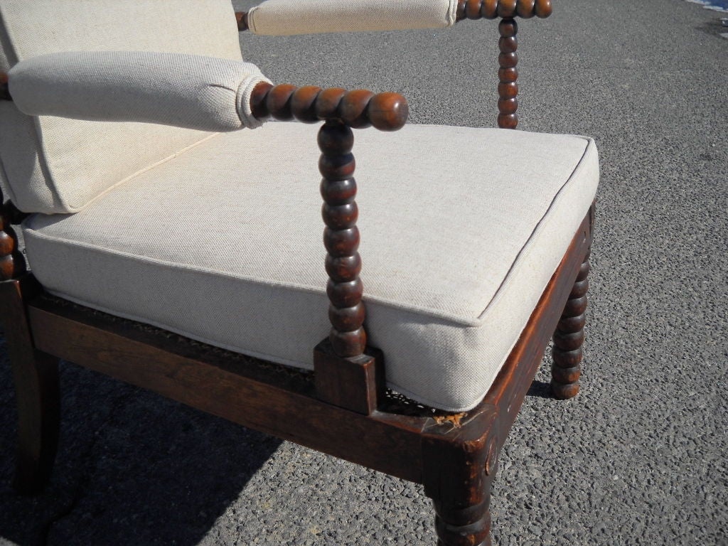 spool chair for sale tufted cushions antique at 1stdibs