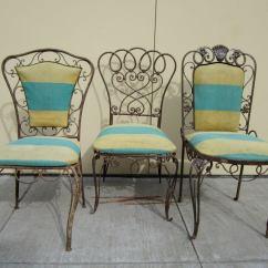 Alice In Wonderland Chair Folding Wooden Chairs Set Of Three Garden At 1stdibs