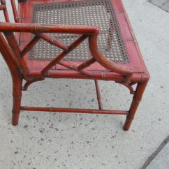 Chinese Chippendale Chairs Chair Covers Folding Cheap Red Style Bamboo And Chinoiserie Arm