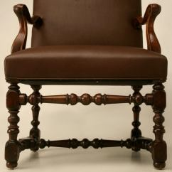 Throne Chair For Sale Gaming And Desk Restored 18th C Antique French Leather